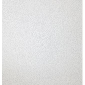 Luipaard Animal Print zilver Glitter behang Shimmer wit getextureerde Modern