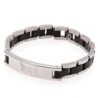 Liverpool FC Black Inlay Bracelet