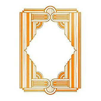 Ultimate Crafts The Ritz Collection Framed Columns Hotfoil Stamp