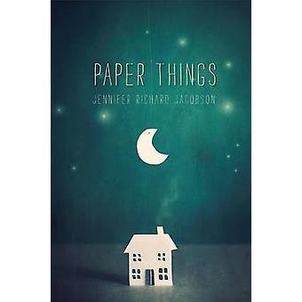 Paper Things by Jennifer Richard Jacobson - 9780763663230 Book