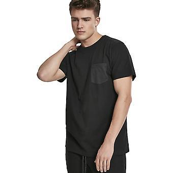 الكلاسيكية الحضرية - مودال ميكس جيب قميص أسود