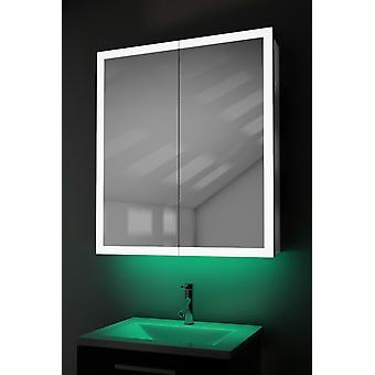 Caja de borde con luz ambiental con demist, afeitadora, sensor K419