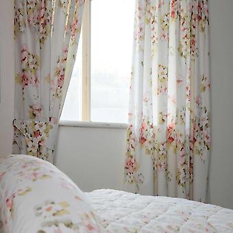 Belledorm Cherry Blossom Lined Curtains
