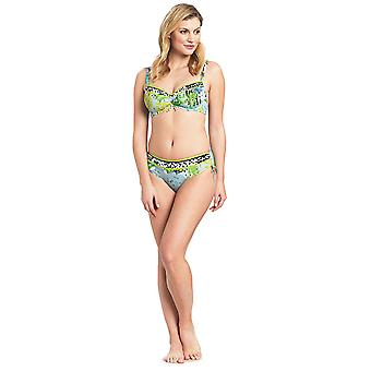 Féraud 3195316-16526 Women's Voyage Sealeaves Blue Underwired Swimwear Beachwear Bikini Set