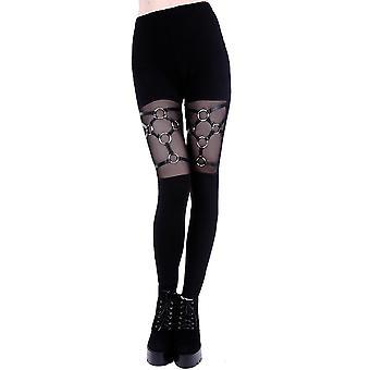 Restyle - harness leggings - womens leggings - black