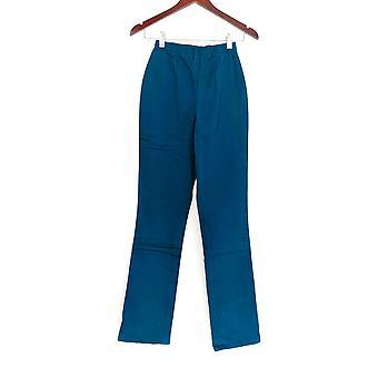 Denim & Co. Leggings TXS Stretch Tall Boot Cut Blue A01725 PTC