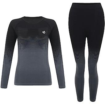 Dare 2b Kobiety InTheZone Wicking Quick Dry Baselayer Zestaw