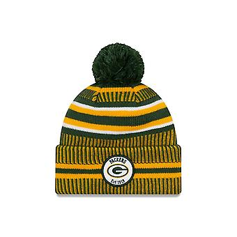 Uusi Era NFL Green Bay Packers 2019 Sideline Home Sport Knit