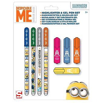 Import In September and Markers Gel pens Minions