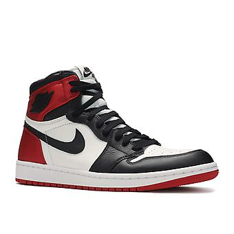 Wmns Air Jordan 1 Retro High 'Satin Black Toe' - Cd0461-016 - Zapatos