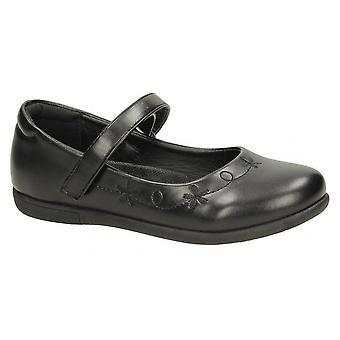 Spot på piger syntetisk blomst skole sko