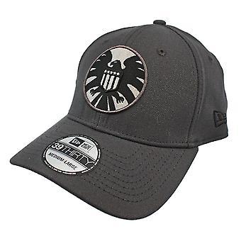 SHIELD Graphite New Era 39Thirty Flex Fit Hat
