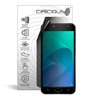 Celicious Privacy Lite 2-Way Anti-Glare Anti-Spy Filter Screen Protector Film Compatible with Asus Zenfone 4 Selfie (ZB553KL)