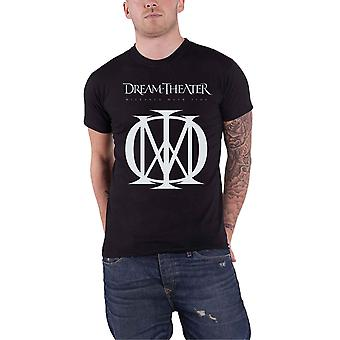 Dream Theater T Shirt Distance Over Time Band Logo new Official Mens Black
