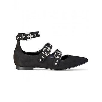 Made in Italia - Shoes - Ballerinas - ANASTASIA_NERO - Women - Schwartz - 40