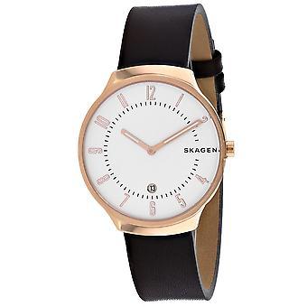Skagen Men's Grenen White Dial Uhr - SKW6458