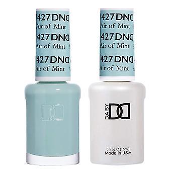 Dnd Duo Gel & Nail Polish Set - Air Of Mint 427 - 2x15ml