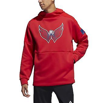 Adidas NHL Washington Capitals pelaaja Pullover huppu