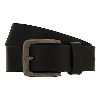 Teal Belt Men's Belt Leather Belt Denim Belt Black 8345