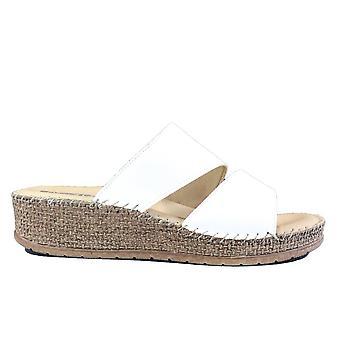 Ara Marrakesch 17714-08 White Womens Slip On Mule Sandals