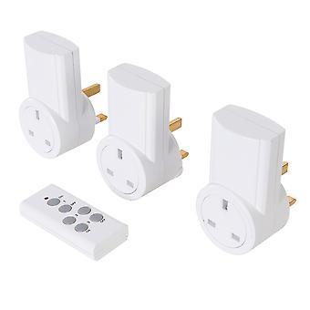 Presa di alimentazione wireless remote control 230V 3pk - UK 10A 230V