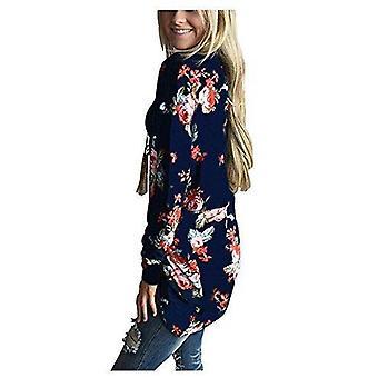 Vincenza womens boho irregular long sleeve wrap kimono cardigans