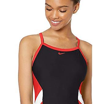 Nike Schwimmen Frauen's Farbe Surge Crossback ein Stück Badeanzug, Universität rot, 38