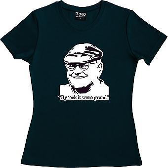 Fred Dibnah Navy Blue Women-apos;s T-Shirt