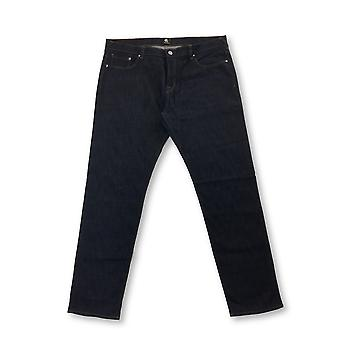 Paul Smith Tapered FIT Jeans in spoeling Wash blauw denim