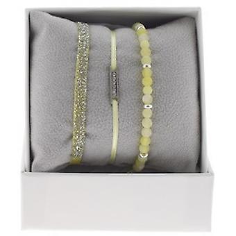 Boksen udskiftelige A48540 - boks Mini plade linje Palladium ornamenter rhinestone / krystal kvinde