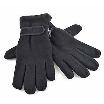 Dames warme fleece winter handschoenen thermische Thinsulate bekleed & polsband