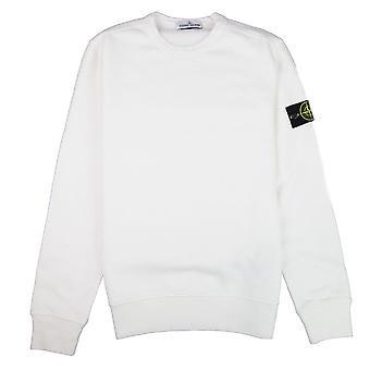 Stone Island Crewneck Sweatshirt Weiß V0099