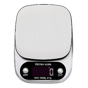 0.1g - 10000g (10kg) Electronic Digital Kitchen Weighing Scale with 4 Units Tare Function
