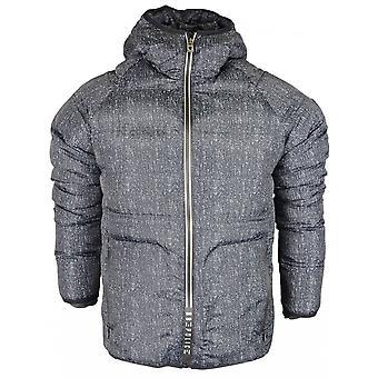 883 politie Dasa lichtgewicht digitale zwarte Hooded Jacket