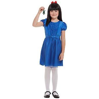Roald Dahl Deluxe Matilda Kostüm Kind Blau