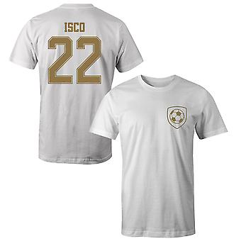 Isco 22 Real Madrid Style Player T-Shirt