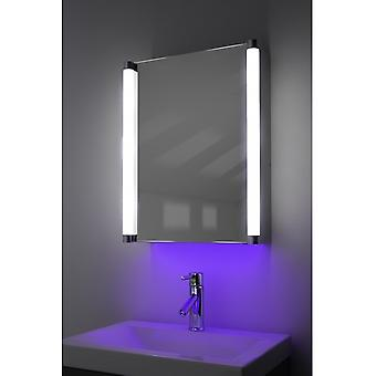 Demist Cabinet With LED Under Lighting, Sensor & Internal Shaver k315w