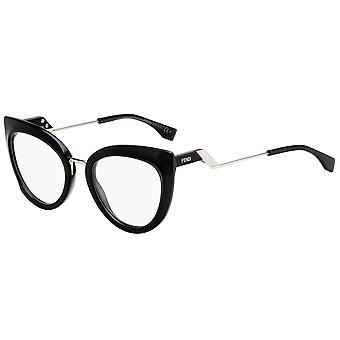 Fendi Tropical Shine FF0334 807 Black Glasses