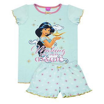Disney Aladdin Jasmine Girl&s Krótkie piżamy