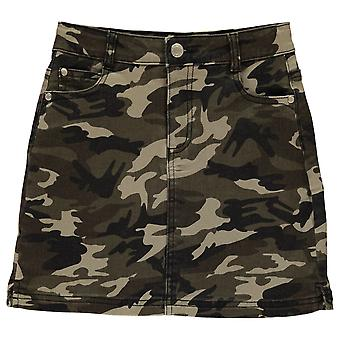 Firetrap Kids Camo Mini Skirt Girls Juniors