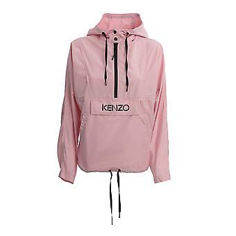 Kenzo Fa52bl10356734 Women's Pink Polyester Outerwear Jacket
