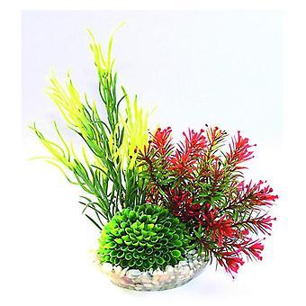 Sydeco Zusammensetzung Mum Head (Fische , Aquariumsdeko , Künstliche Pflanzen)