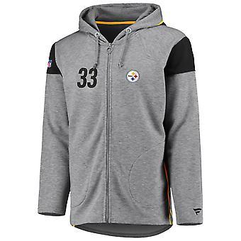 Iconic Franchise Full Zip NFL Hoodie - Pittsburgh Steelers