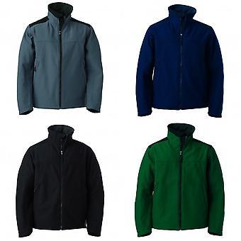 Russell Workwear Mens Softshell ademend waterdichte membraan jas
