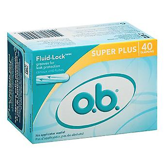 Tamponi O.b., super plus, 40 ea