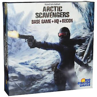 Arctic Scavengers Board Game Base Game + HQ + Recon Expansions