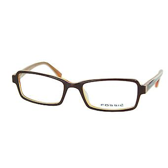 Fossil Brille Brillengestell Sombrero rot OF2040201