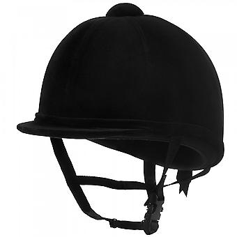 Charles Owen Young Riders Riding Hat - Black