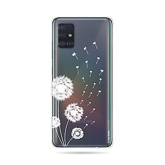 Hull For Samsung Galaxy A51 Soft Pissenlit Flowers