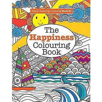 Really RELAXING Colouring Book 21The Happiness Colouring Book by James & Elizabeth